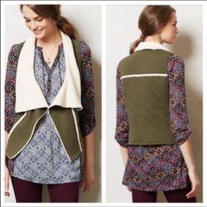 Anthropologie Saturday Sunday Light Quilted Vest